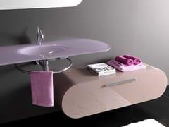 - Storage bathroom cabinet with drawers FLUX_US 17   Bathroom cabinet - LASA IDEA