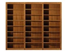 - Open sectional cherry wood bookcase MASCHERA   Open bookcase - Morelato