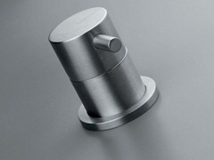 - Single handle stainless steel washbasin/bath mixer COCOON MONO 01X - COCOON