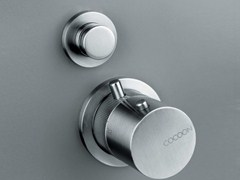 - Thermostatic shower mixer with diverter COCOON MONO 02THERM - COCOON