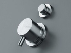 - Stainless steel shower/bath mixer with diverter COCOON MONO 02 - COCOON