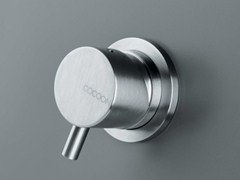 - Stainless steel shower/bath mixer COCOON MONO 01U - COCOON