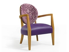 - Medallion easy chair with armrests MASS 12 - Fenabel - The heart of seating
