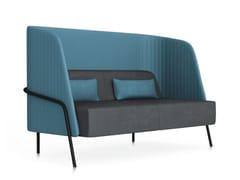 - 2 seater high-back sofa NOLDOR I831 - Segis