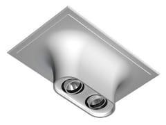 - Multiple ceiling aluminium spotlight USO BOOB 600 2L - FLOS