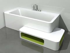 - Corner rectangular bathtub UNOPUNTOZERO | Corner bathtub - LASA IDEA