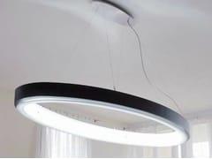 - LED aluminium pendant lamp CIRCOLO ELLIPSE - Sattler