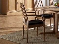 - Wooden chair with armrests 1588A | Chair with armrests - Dyrlund