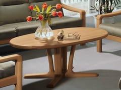 - Oval coffee table 9256 | Coffee table - Dyrlund