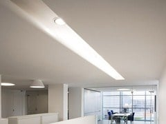 - Ceiling mounted modular lighting profile USP 12 33 21 | Lighting profile for downlights - FLOS
