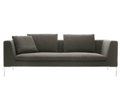 - 3 seater fabric sofa CHARLES | Upholstered sofa - B&B Italia