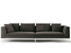 - 4 seater fabric sofa CHARLES | Sofa - B&B Italia