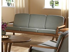 - 3 seater wooden sofa 1613 | 3 seater sofa - Dyrlund