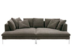 - Sectional fabric sofa CHARLES LARGE | Sectional sofa - B&B Italia