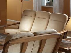 - 3 seater wooden sofa 1240AH   3 seater sofa - Dyrlund