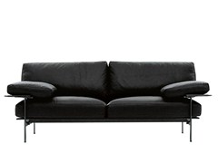 - 2 seater leather sofa DIESIS | Sofa - B&B Italia