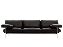 - 3 seater leather sofa DIESIS | Leather sofa - B&B Italia