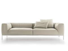 - 3 seater leather sofa FRANK | Leather sofa - B&B Italia