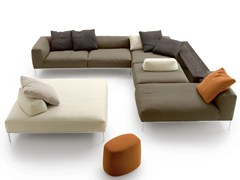 - Corner sectional fabric sofa FRANK   Corner sofa - B&B Italia