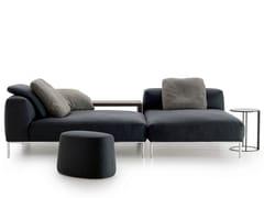 - Sectional fabric sofa FRANK | Sectional sofa - B&B Italia
