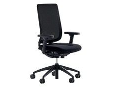 - Fabric task chair with 5-Spoke base with armrests TOO 2 - Brunner