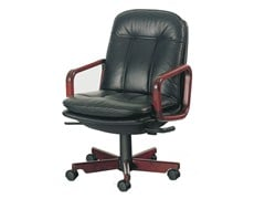 - Executive chair with 5-star base 8998W | Executive chair - Dyrlund