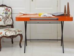 - Glossy lacquered MDF writing desk COSIMO LAQUÉ BRILLANT - Adentro