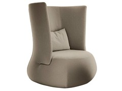 - High-back upholstered fabric armchair FAT SOFA | High-back armchair - B&B Italia