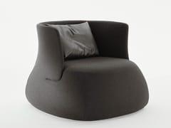- Upholstered fabric armchair FAT SOFA   Armchair - B&B Italia