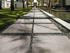 - Porcelain stoneware outdoor floor tiles with concrete effect MEMORIES | Outdoor floor tiles - CERAMICA SANT'AGOSTINO