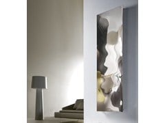Glossy steel decorative radiator BLOW VT - CORDIVARI