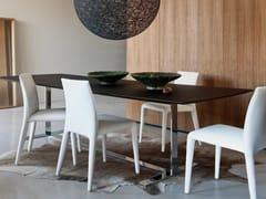 - Rectangular solid wood table EILEEN | Rectangular table - B&B Italia