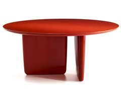 - Lacquered round table TOBI-ISHI | Lacquered table - B&B Italia