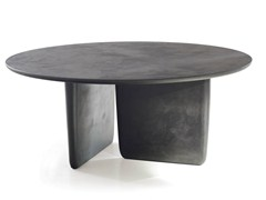 - Round MDF table TOBI-ISHI | Round table - B&B Italia