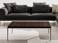 - Low rectangular solid wood coffee table MICHEL | Coffee table - B&B Italia