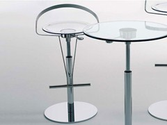 - Design height-adjustable height-adjustable steel stool CAYMAN-P - ITALY DREAM DESIGN - Kallisté
