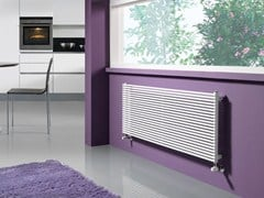 Wall-mounted powder coated steel Radiator ALICE OR - CORDIVARI