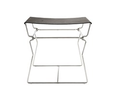 - Leather stool / coffee table PYLLON | Stool - B&B Italia