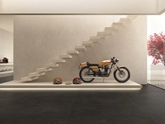 - Flooring with concrete effect ULTRA iCementi │ Graphite - ARIOSTEA