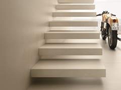 - Flooring with concrete effect ULTRA iCementi │ Silver - ARIOSTEA