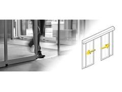 - Automated sliding-door system Standard (SLX-M) - Gilgen Door Systems