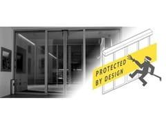 - Automated burglar-resistant sliding door system Burglar-Resistant (SLX-M RC2-RC3) - Gilgen Door Systems