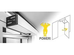 - Automated swing door drive unit Swing-door drive systems (FD 20) - Gilgen Door Systems