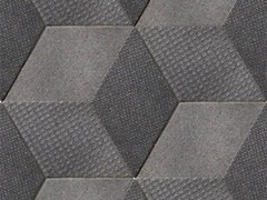 - Indoor porcelain stoneware wall/floor tiles TEX BLACK - MUTINA