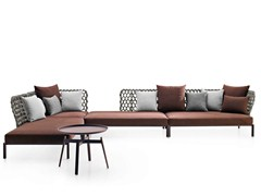 - Corner sectional garden sofa RAVEL | Corner sofa - B&B Italia Outdoor, a brand of B&B Italia Spa