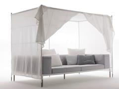 - Canopy fabric garden sofa SPRINGTIME | Canopy sofa - B&B Italia Outdoor, a brand of B&B Italia Spa