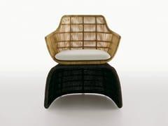 - Polyethylene garden armchair CRINOLINE | Garden armchair - B&B Italia Outdoor, a brand of B&B Italia Spa