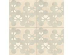 - Glazed stoneware wall/floor tiles AZULEJ BIANCO FLORES - MUTINA