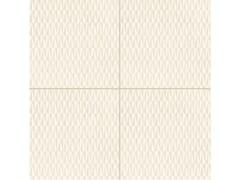 - Glazed stoneware wall/floor tiles AZULEJ BIANCO TRAMA - MUTINA