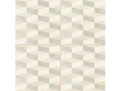- Glazed stoneware wall/floor tiles AZULEJ BIANCO CUBO - MUTINA